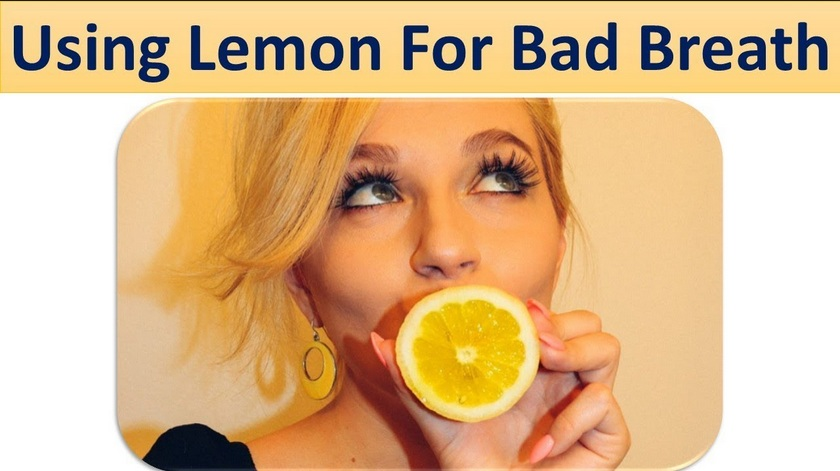 Lemon Untuk Mencegah Bau Mulut