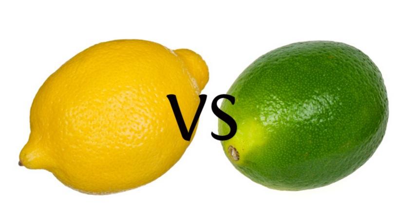 Perbedaan Lemon dan Jeruk Nipis